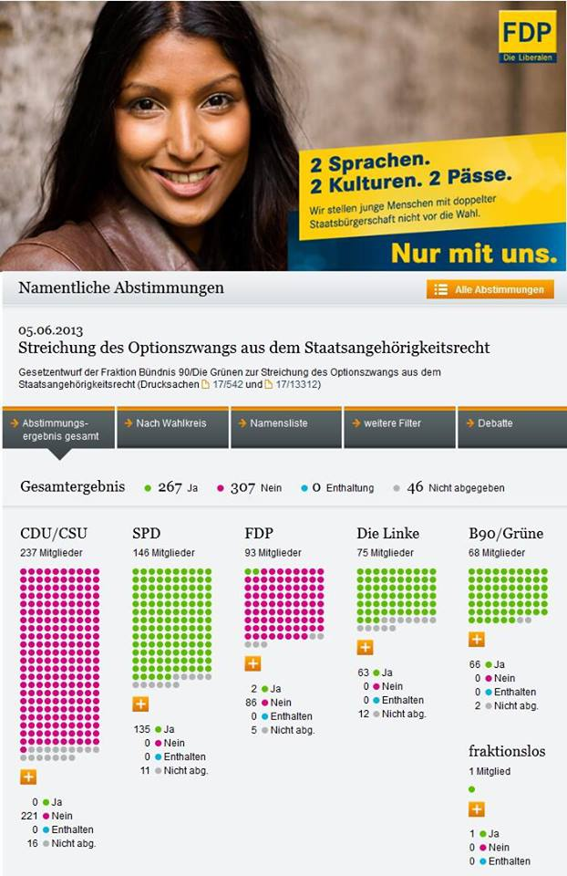 FDP Optionszwang