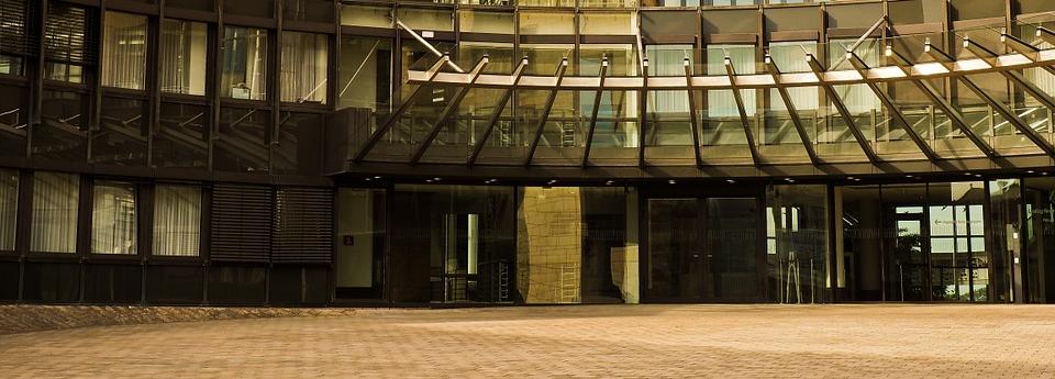 Landtag Eingang