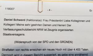 Widerspruch von SPD und Grünen