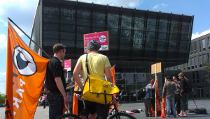 Telekom Campus Demo Netzneutralität
